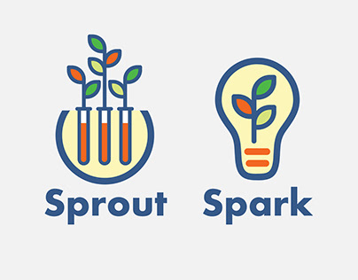 Spark and Sprout logos