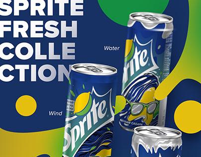 Sprite fresh collection Coca Cola Russia