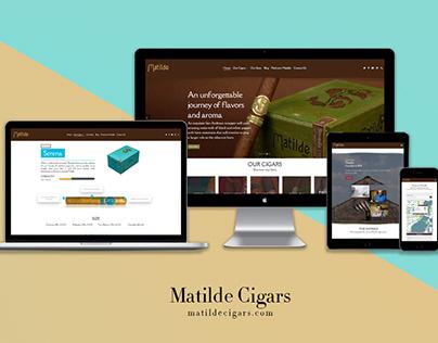 Matilde Cigars // Web Design & Development