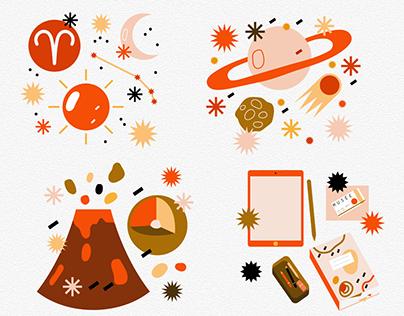Illustration digitale - site internet