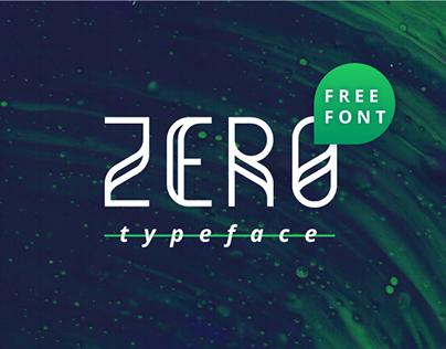 Zero Free Typeface