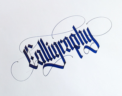 Calligraphy - Parallel pen
