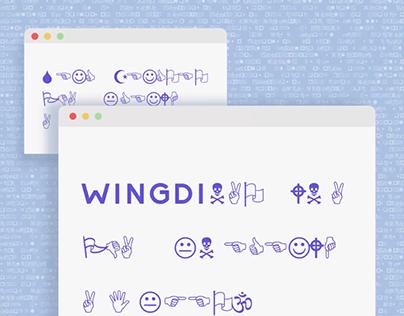 Wingdings are the original emojis