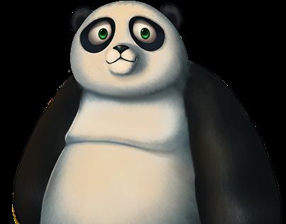 Happy Fruits - Skill Game Character - Panda