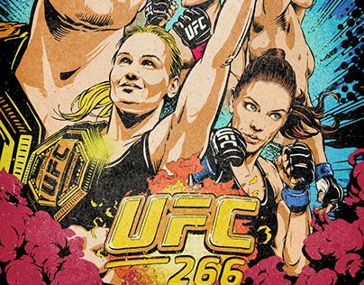 UFC Artist Series   266 Fight Night Official Poster