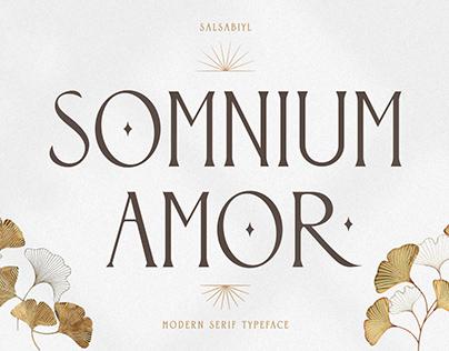Somnium Amor - Modern Serif Typeface