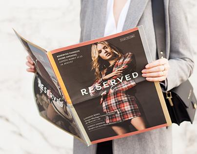RESERVED FASHION MAGAZINES