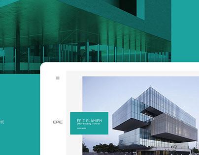 EPIC - Web UI/UX Design
