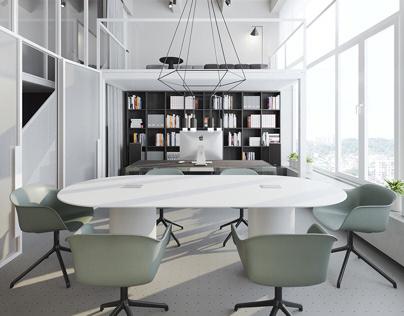 Kiev loft office