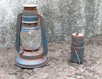 Lantern and Old lantern 3D models