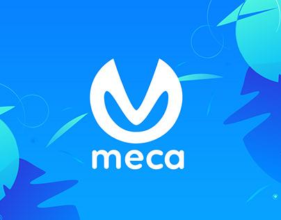 Meca | Social Media Agency Logo Design