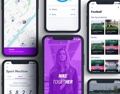 App & Campaign | Nike Together
