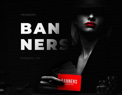 banners : instagram stories / instagram post