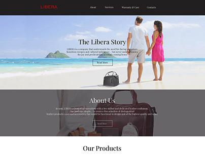 Libera Italy ECommerce Website developments
