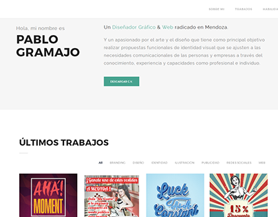 Web Portfolio/C.V.