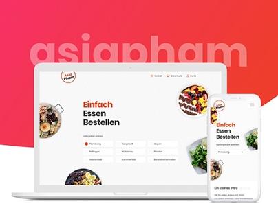 Asiapham website redesign