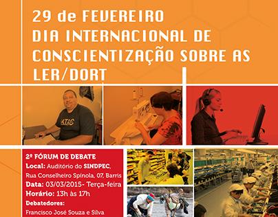 Dia Internacional de Conscientização sobre as Ler/Dort