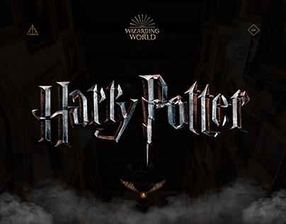 """Harry Potter"" Web-design"