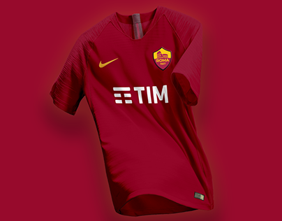 AS Roma / Branding And New Logo 2018