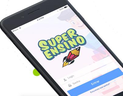 Super Ensino App UX/UI