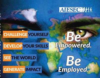 AIESEC Trifold Brochure