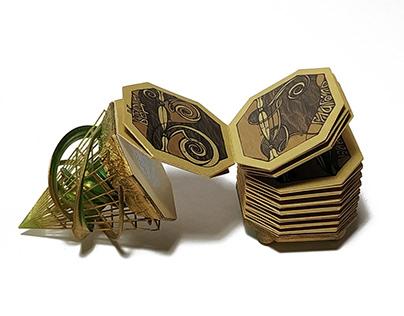 "Miniature book ""Old Russian Alphabet"""