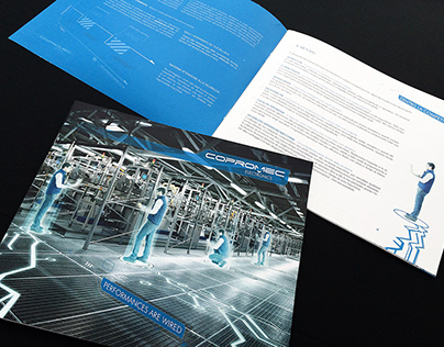 Brochure for an industrial company