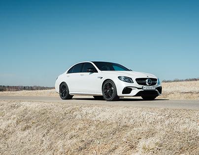 Mercedes-Benz E63s #2