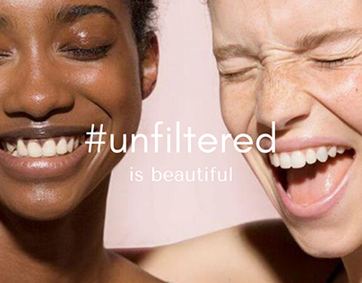 Social Media Content & Copy: Glossier #Unfiltered