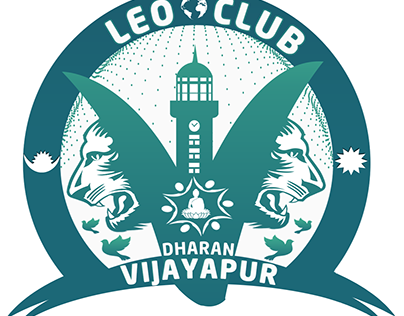 LEO CLUB OF DHARAN VIJAYAPUR LOGO