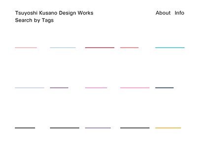 Works | Kusano Tshuyoshi Design Works