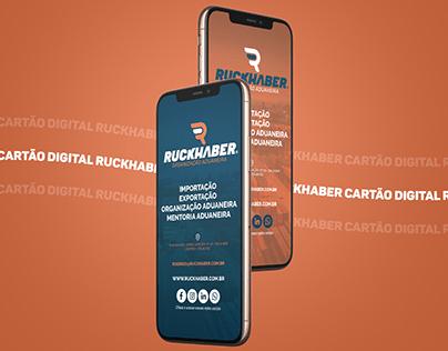 Cartão Digital | Ruckhaber
