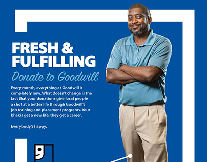Goodwill Archie Donation Ad