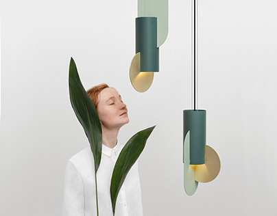 Suprematic lighting collection for NOOM
