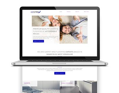 L & G Flooring Web Design/Development   Branding  