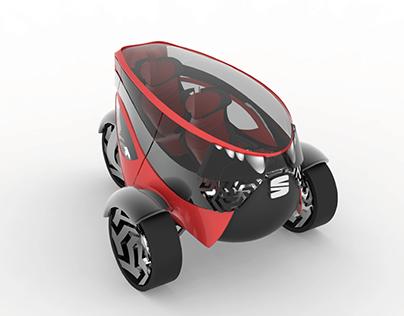 Seat ANT. Concept car 2030.