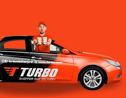 Logotipo Turbo Shopper And Delivery