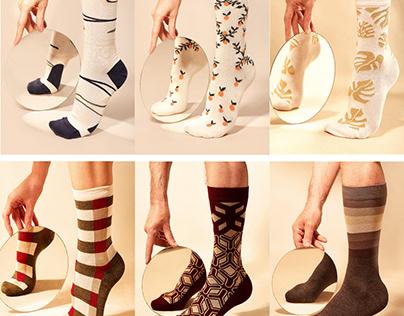Socks and Tights Designs for Clovis & Clothilde Paris