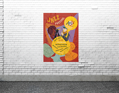 Jazz Poster for a Festival