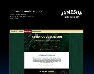 Jameson Ambassador Morocco