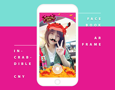In-CRAB-dible CNY AR Frame | Mister Potato Malaysia