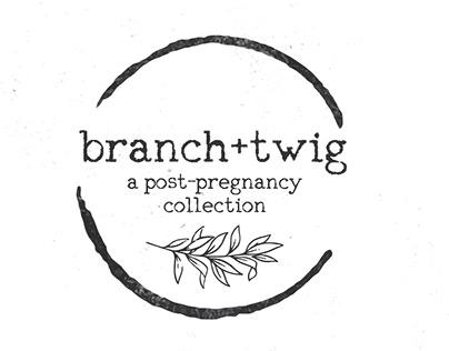 Branch+Twig - A Nursing Brand Concept (2019)