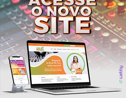 Reformulação de Site - Rádio Band FM Sorocaba
