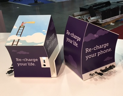 Exhibit Design - Charging Station
