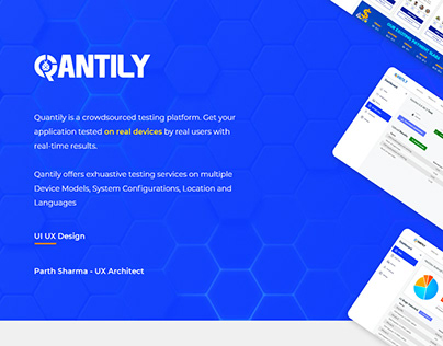 Qantily Crowd Testing - UX Design
