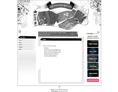 A Brochure Designer website