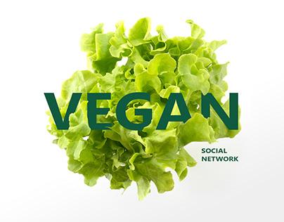 Vegan social network design