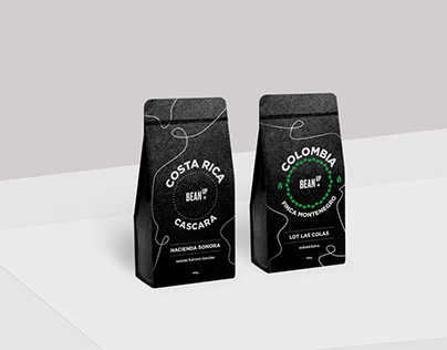 BeanUp! Coffee Roaster Identity