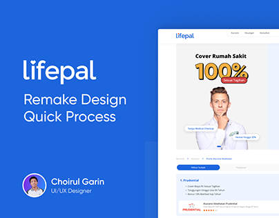 Lifepal Insurance Promotion Page - Remake Design