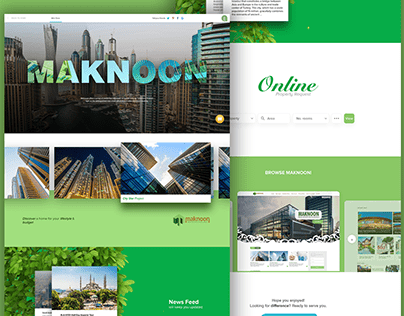 Maknoon - Front-End & CSS Animations